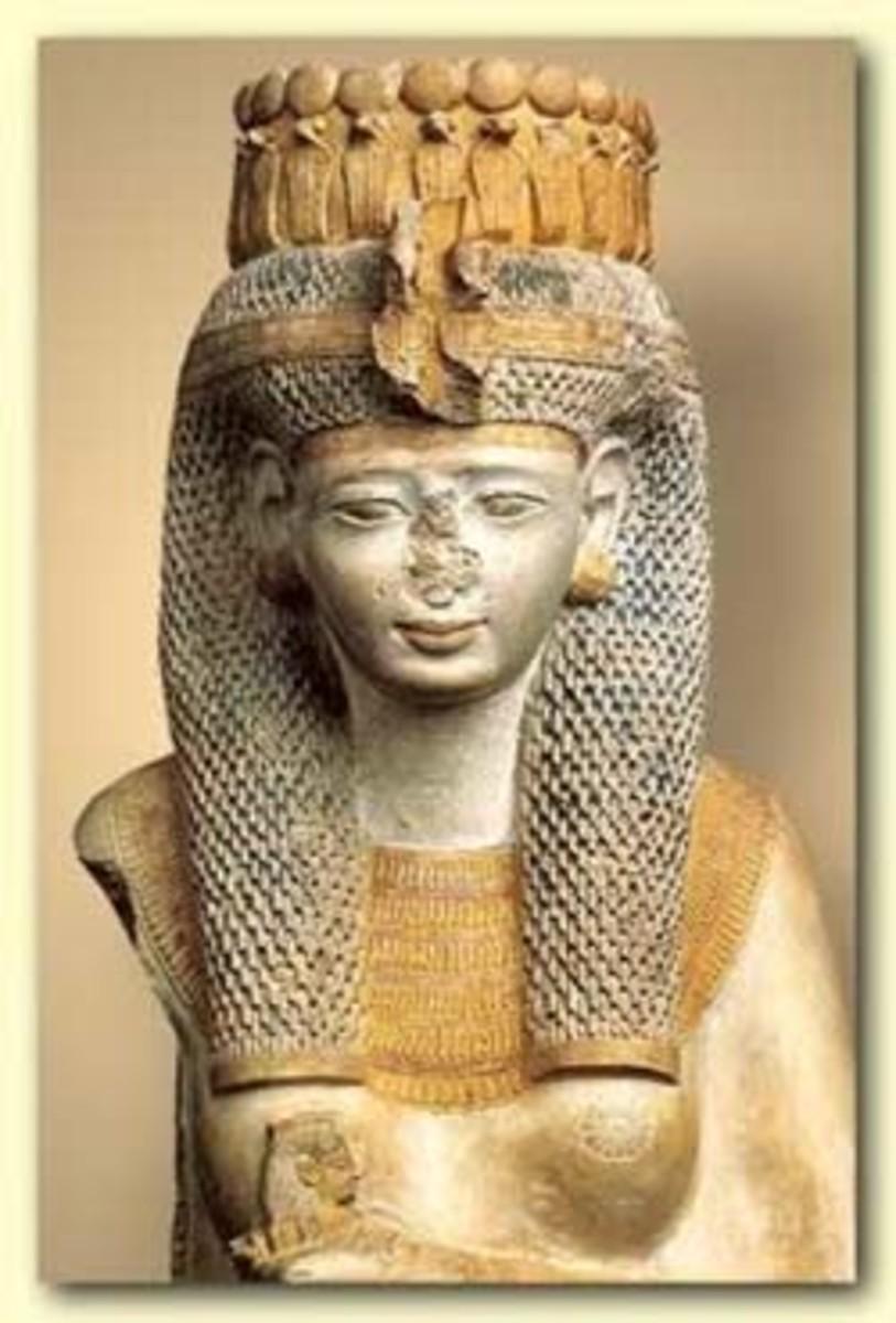 Queen Istnofret,the second wife of Ramesses II