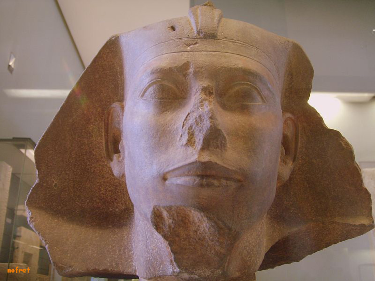 Djedefre (c.2566 - 2558), Khufu's son, followed his father on the throne. He moved his burial site to Abu Roash, 5 miles (8km) north of Giza. His funerary complex today lies in ruins - in fact, it was probably never completed due to his short reign.