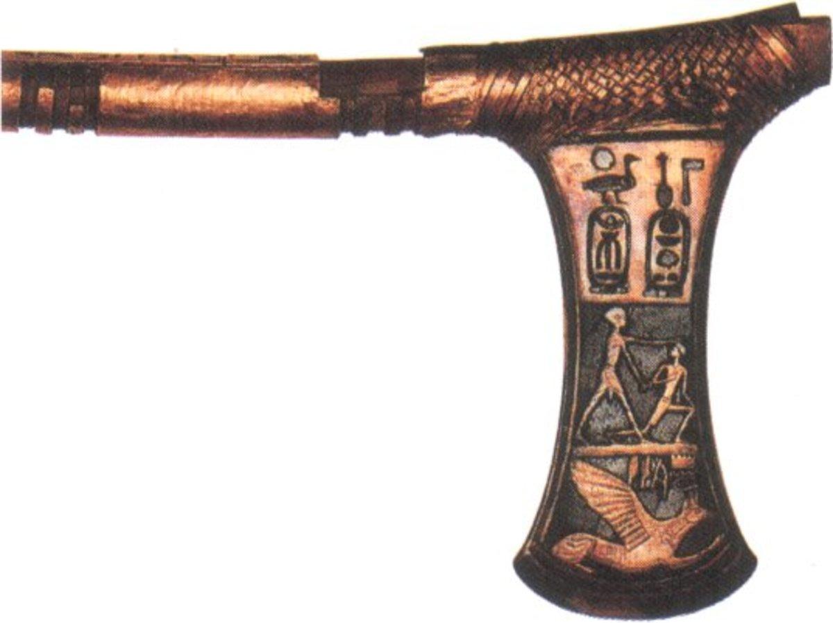 Ahmose's I Battle Axe