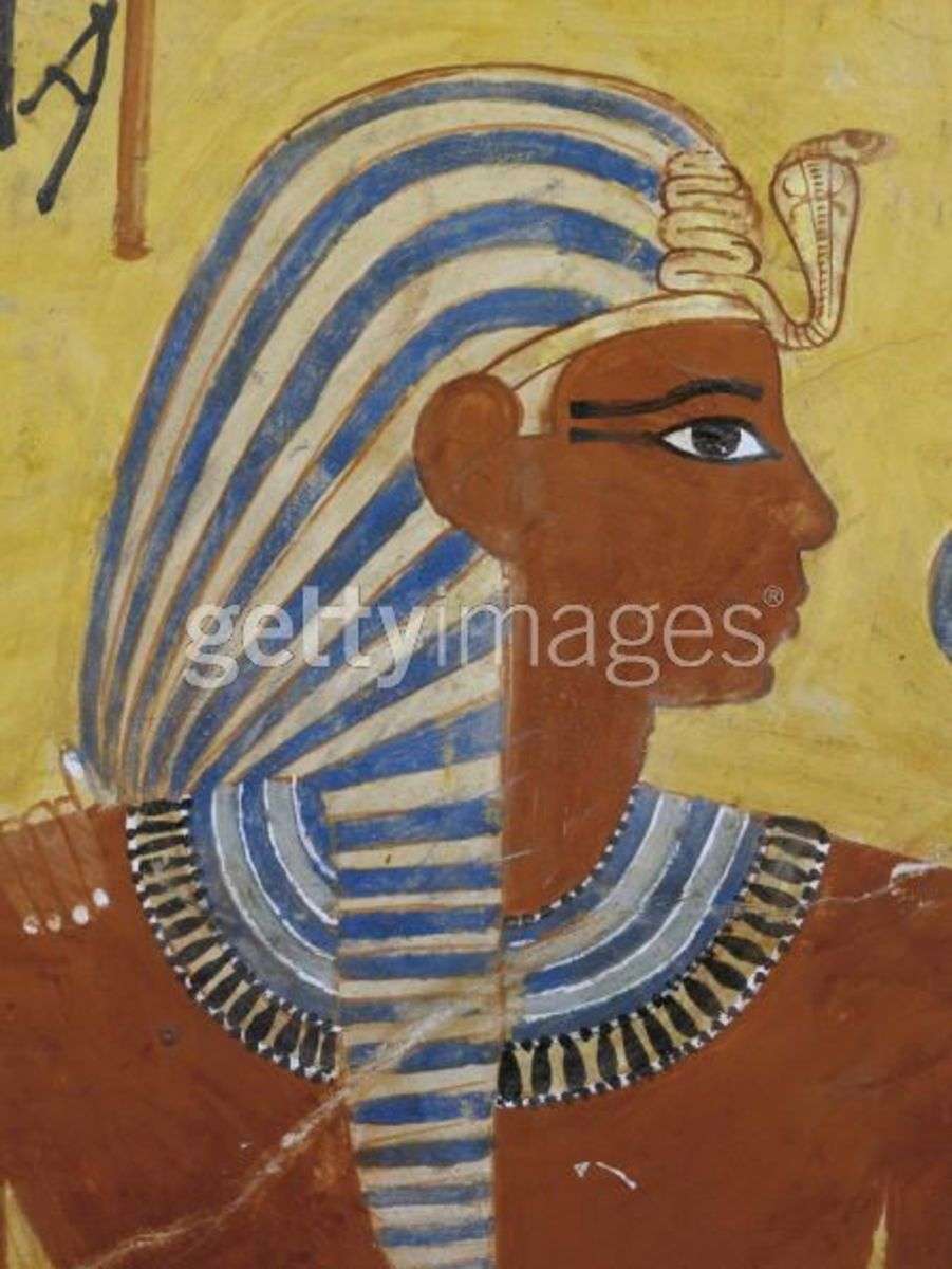 The golden age of egypt high culture architecture for Egyptian mural painting