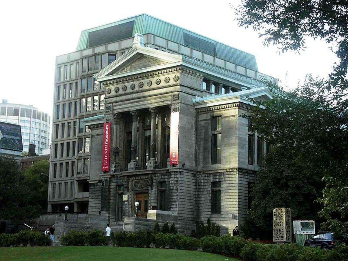 Redpath Museum, McGill University.  Image courtesy Gene Arboit & Wikimedia Commons.