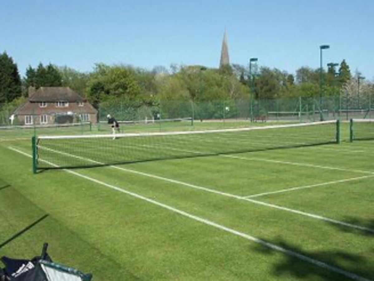 Horsham Lawn Tennis Club today.