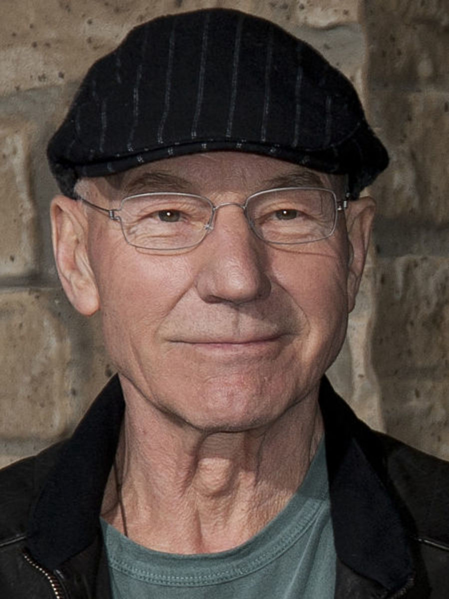Sir Patrick Stewart, Chancellor of the University of Huddersfield and Professor of Performing Arts. President of Huddersfield Town Academy.