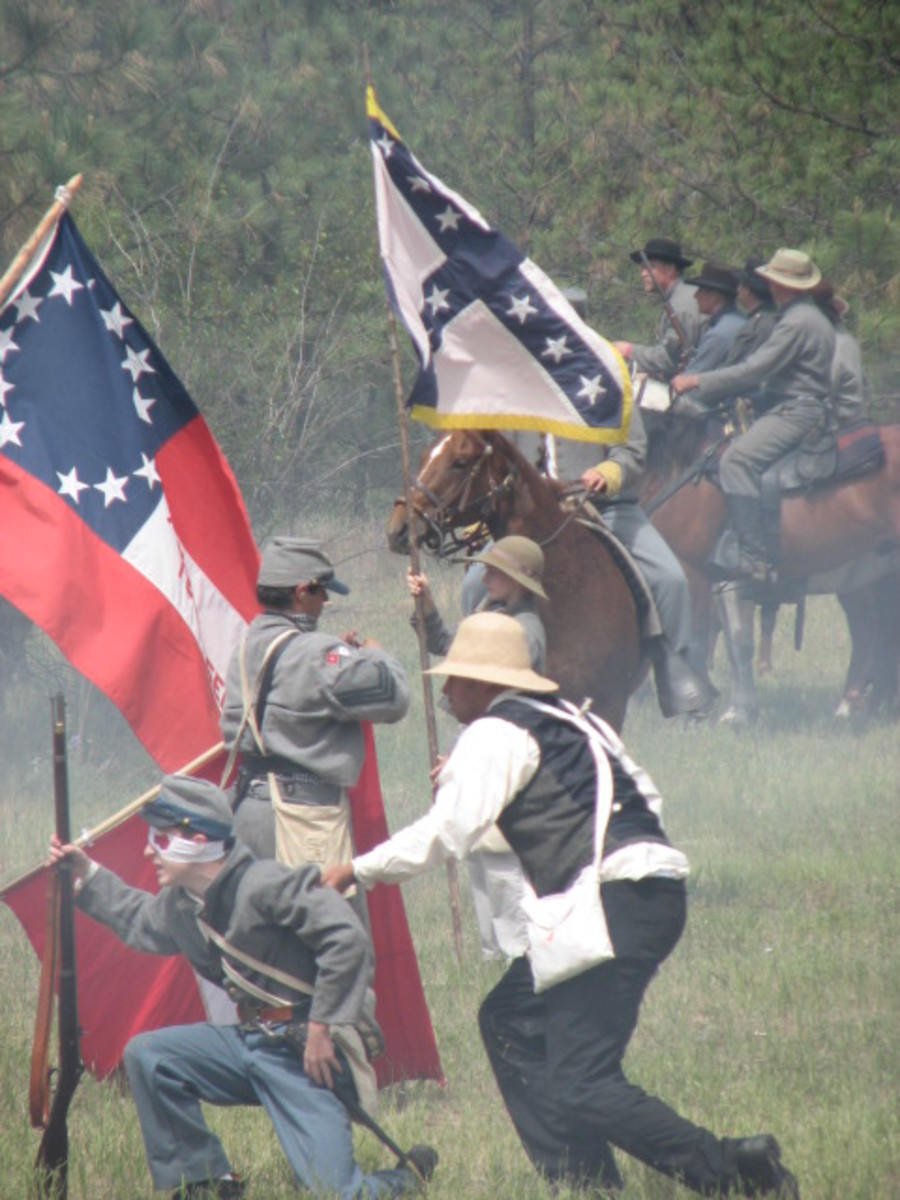 Oklahoma Civil War: The Battle at Cabin Creek Reenactment