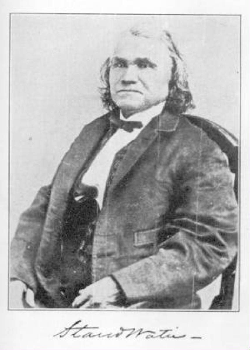 Oklahoma Civil War - Pivotal People: Cherokee Chief Stand Watie