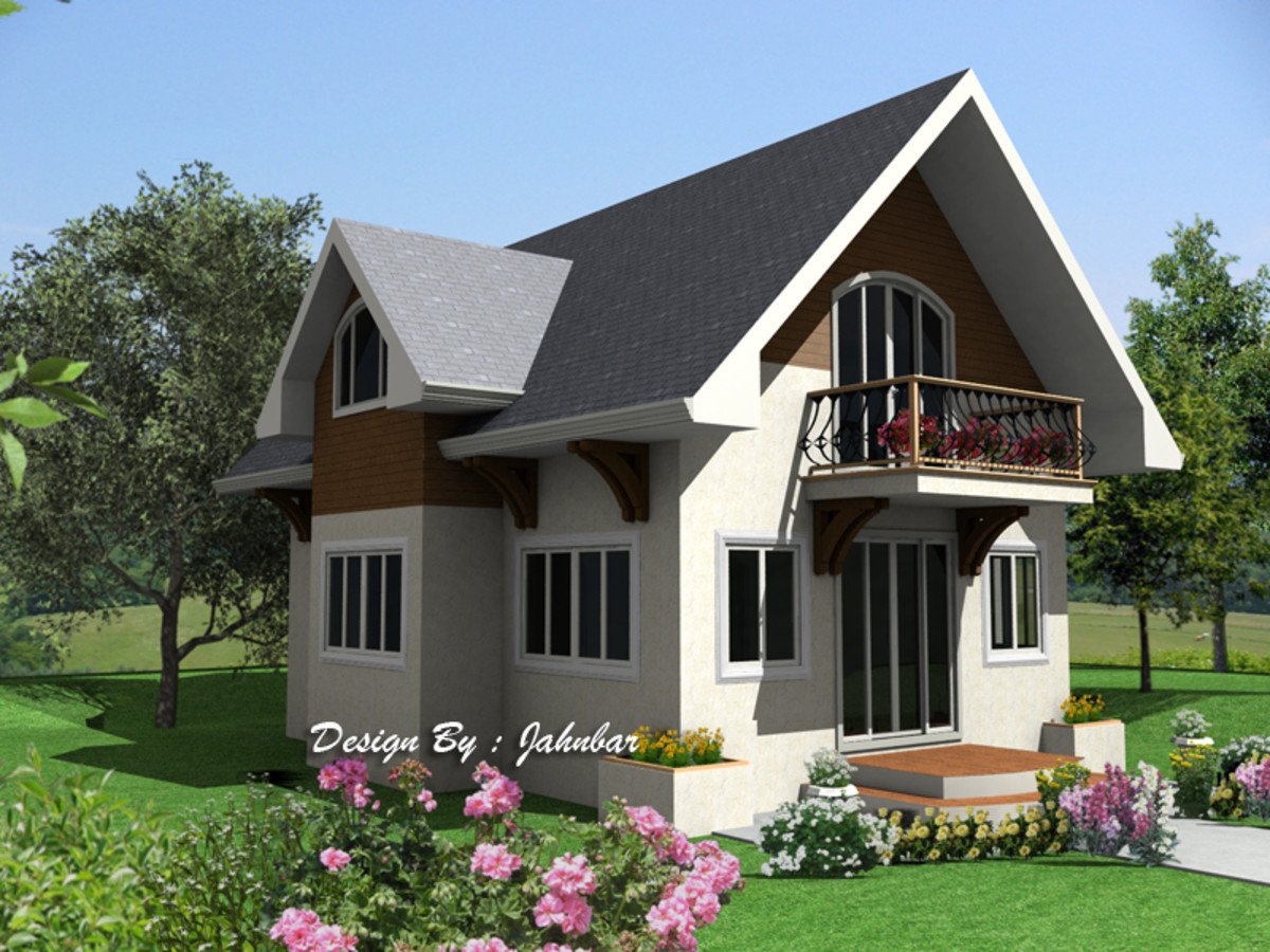 Attic home design hubpages Bungalow house with attic design