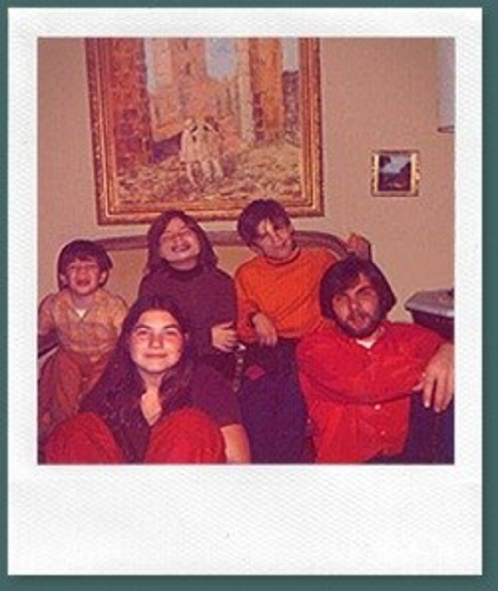 The Defeo Family,minus Ronald Sr. Ronald Jr. is on the bottom right of the photo.