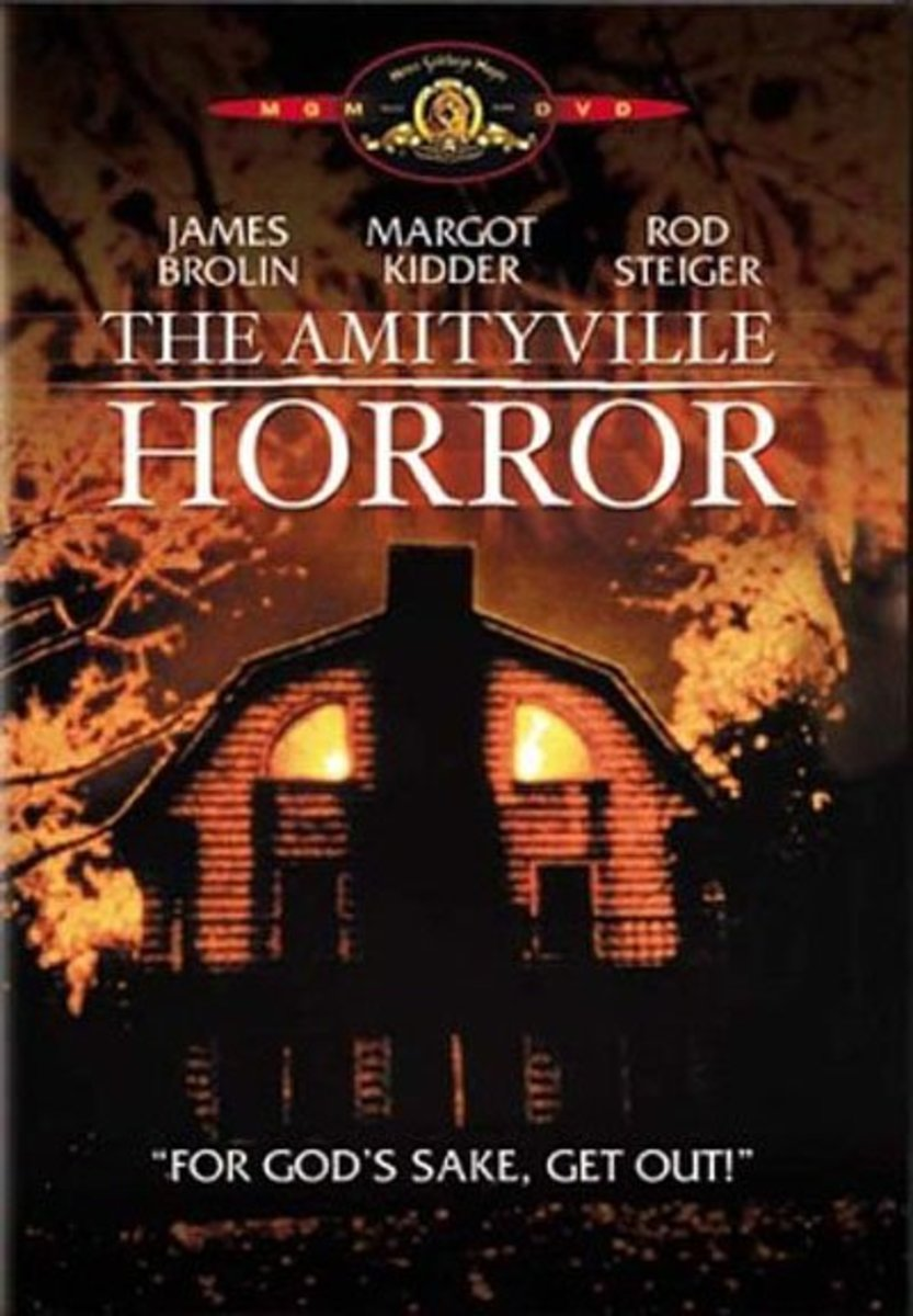 Amityville horror movie poster.
