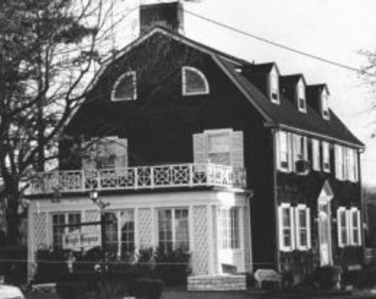 The house as it originally looked before being remodeled.