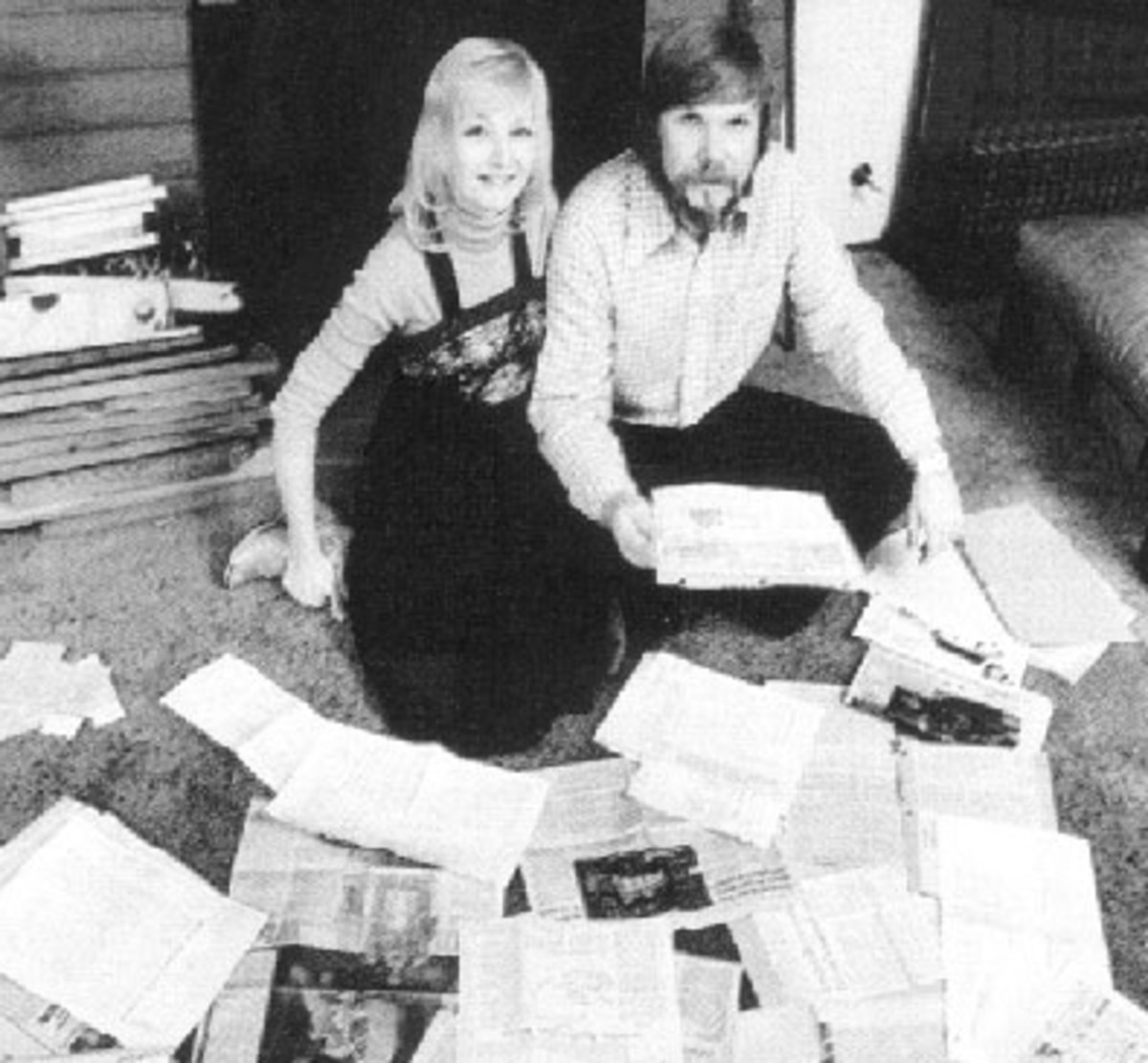 George and Kathy Lutz. Notice how much George resembles Ronnie Defeo Jr.,in the picture up above.