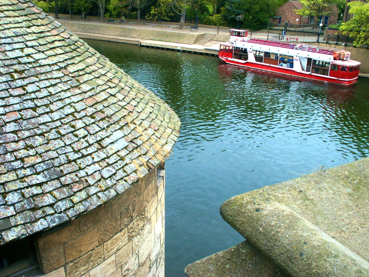 One of the many attractions in York, England: the medieval town.