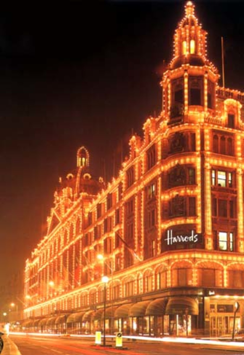 British Shops.  Famous English Stores
