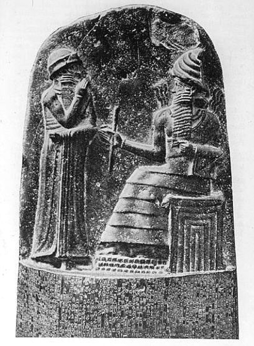 The Code of Hammurabi. Image from Wikipedia