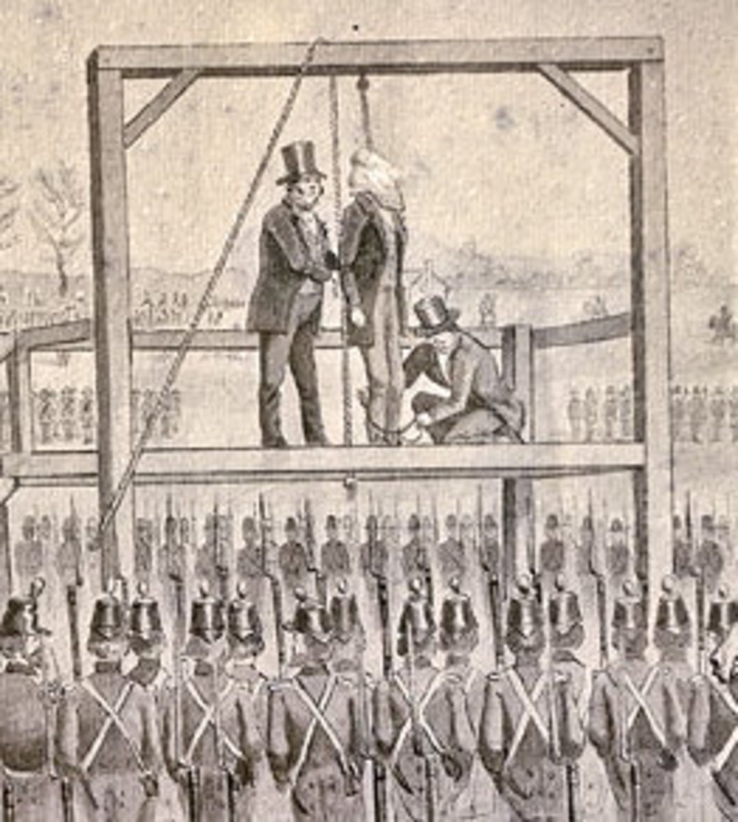 The Hanging of John Brown. Image from Wikipedia