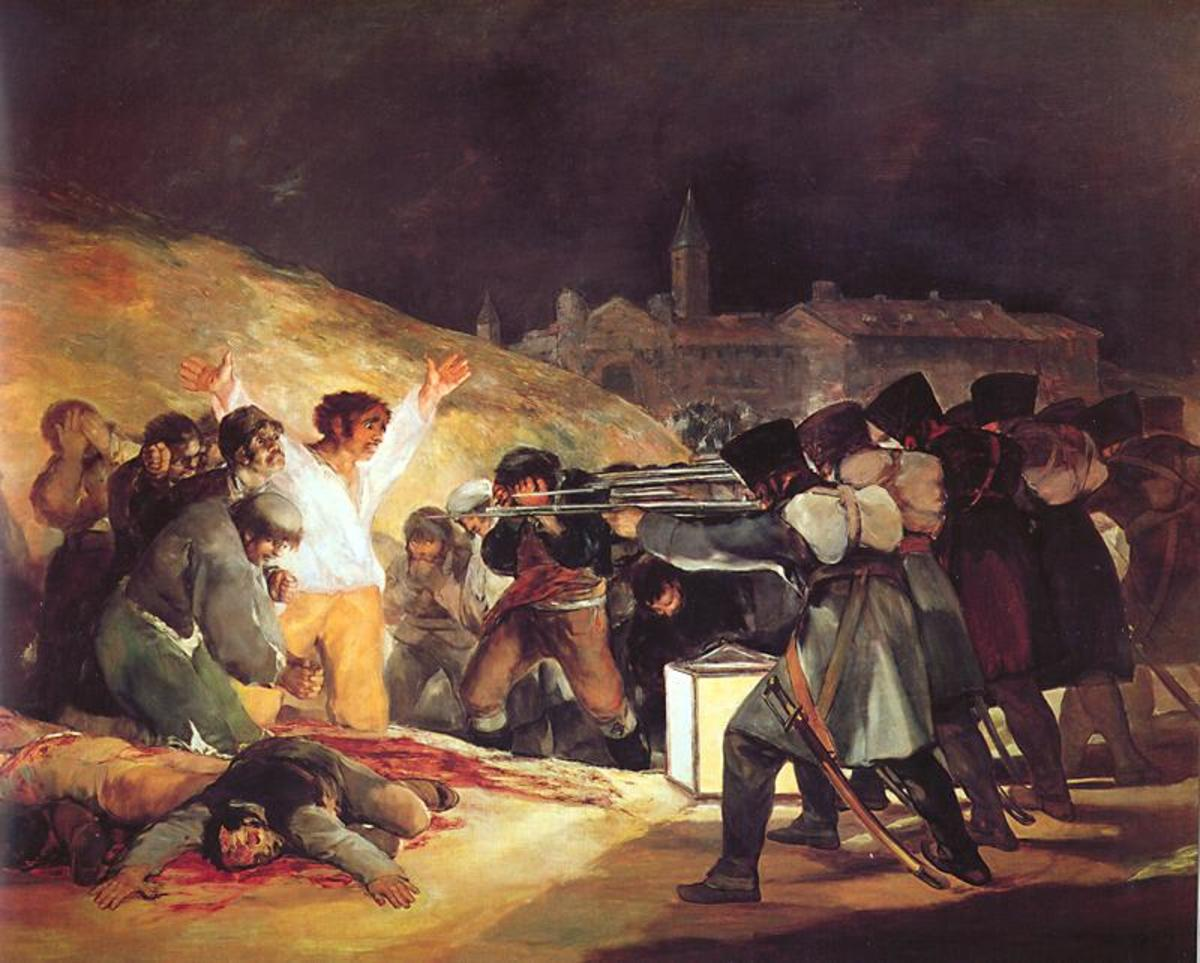 Francisco Goya: 3rd of May. Image Wikipedia