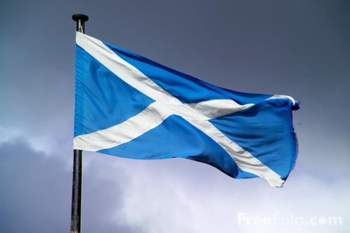St Andrew's Flag - The Saltire