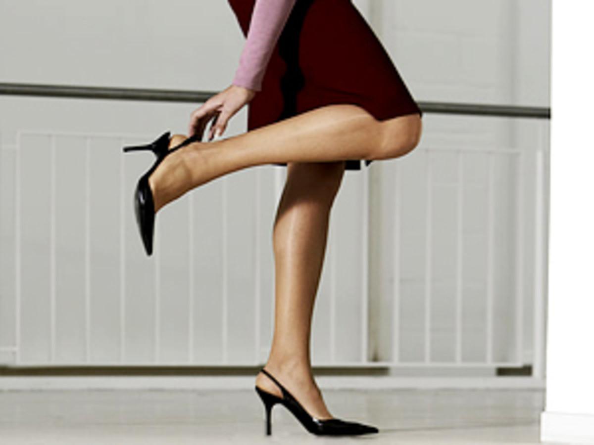 Single ladies throw your shoe at the door...