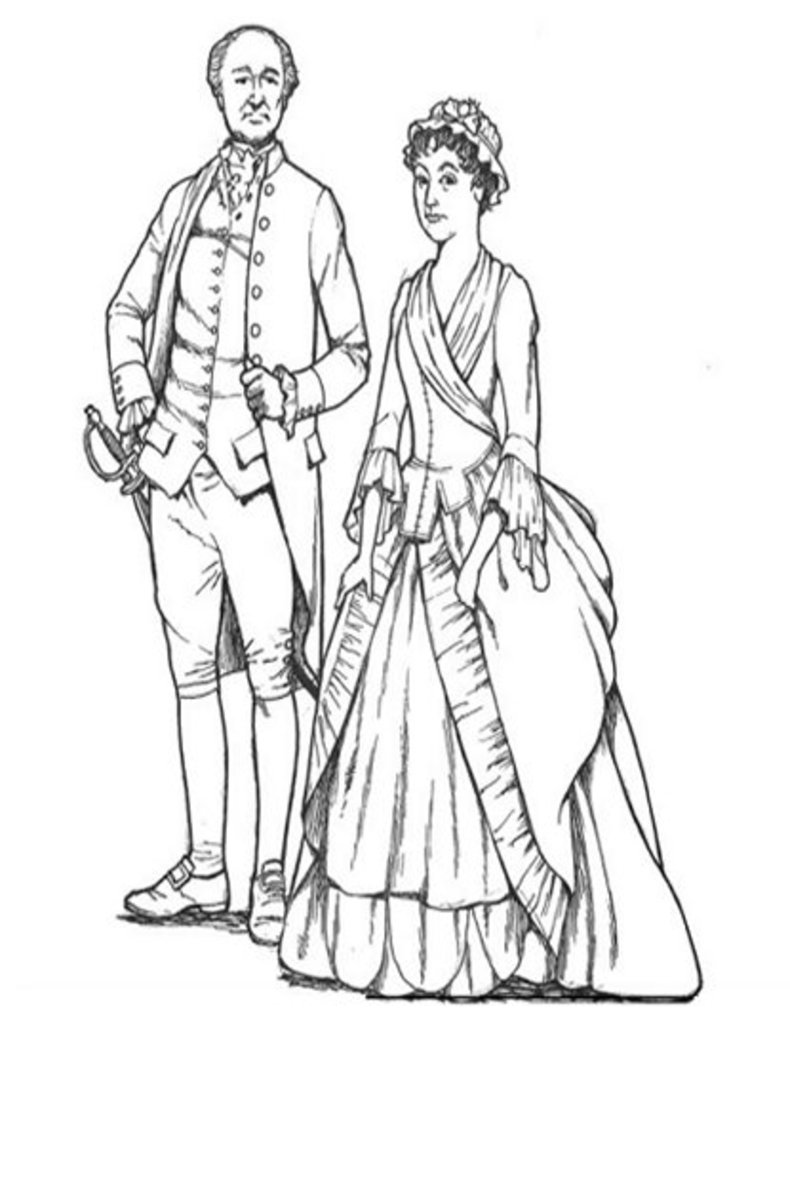 abigail adams coloring pages - photo#25