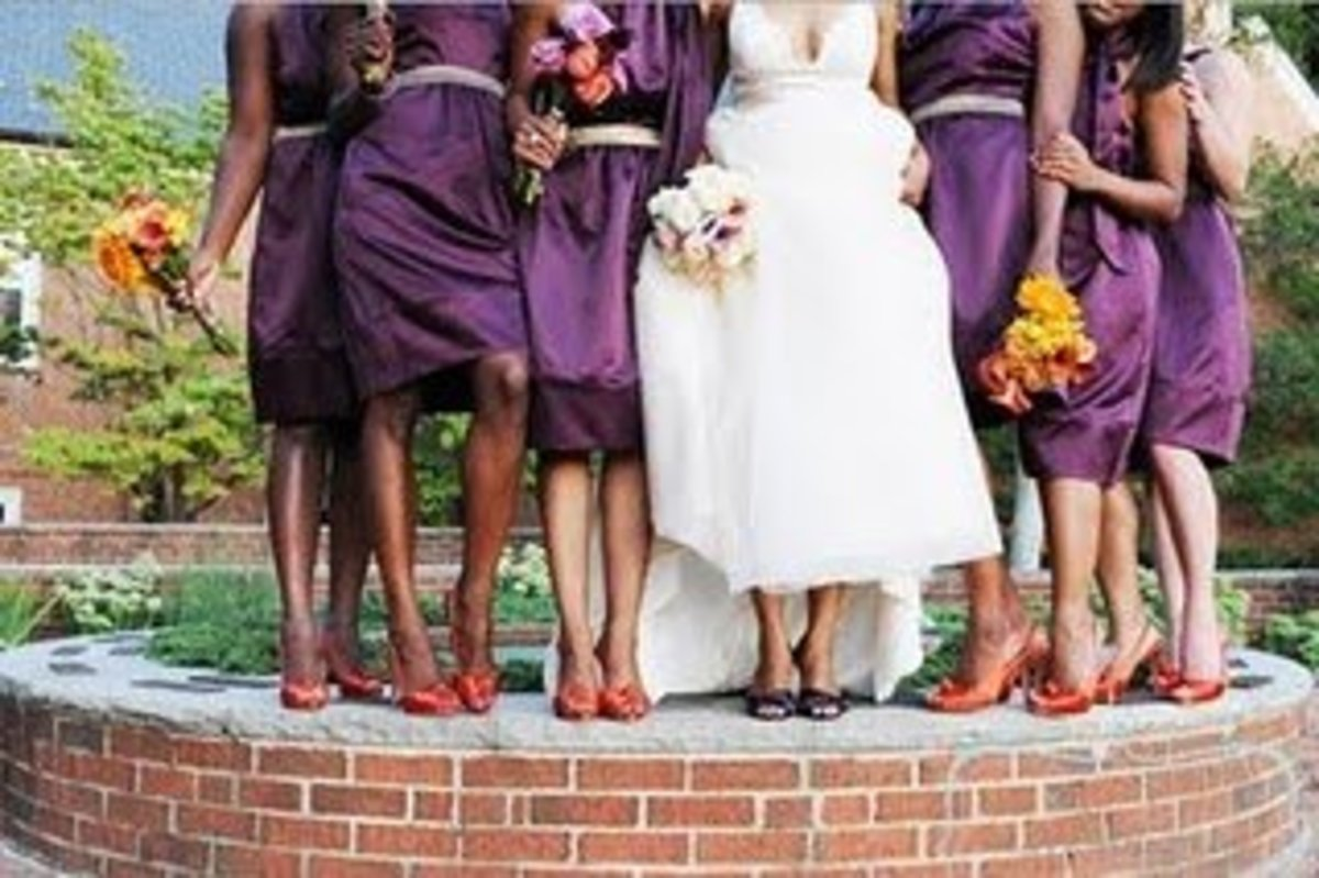 Bridal Party Gown Ideas