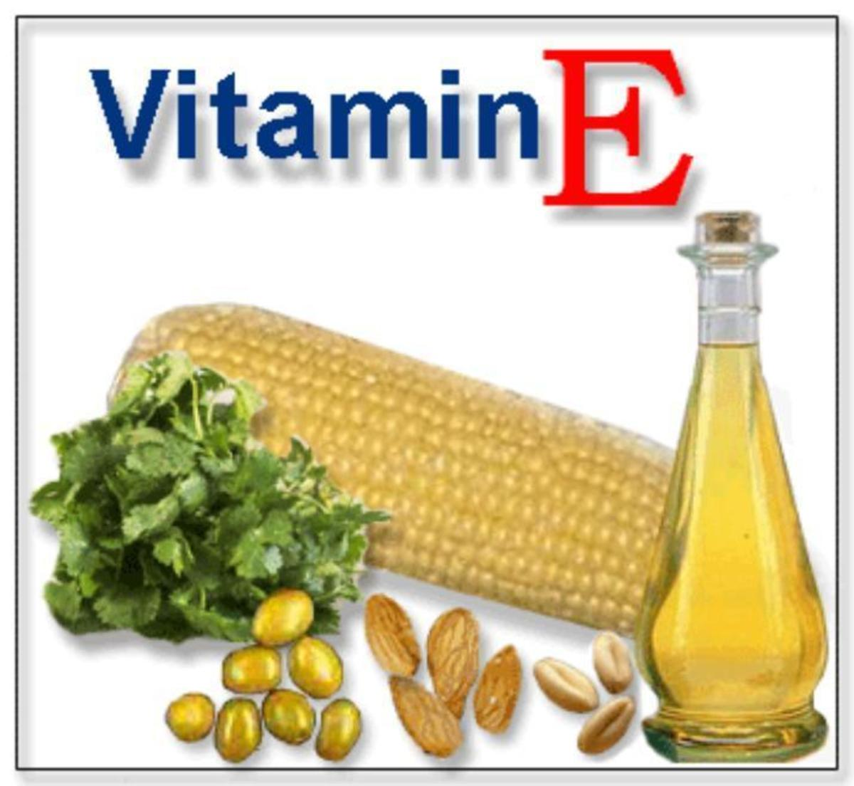 Vitamin E represents a family of eight fat-soluble anti-oxidant vitamins. Alpha-tocopherol is the most important vitamin E in humans. Alpha-tocopherol protects the LDL cholesterol in the blood and body cell membranes from oxidation by free radicals