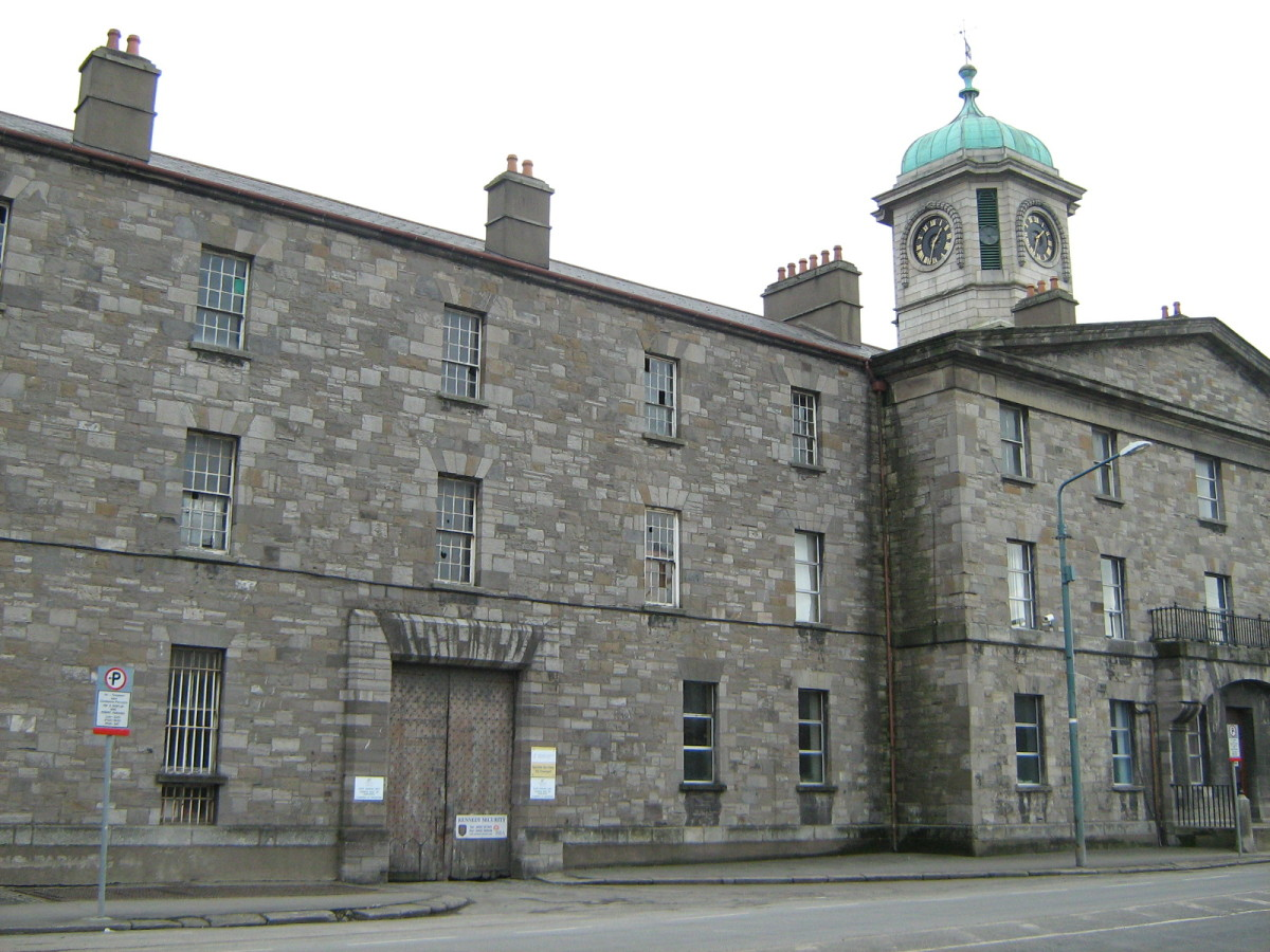 Grangegorman Prison in Stoneybatter, Dublin  in Ireland
