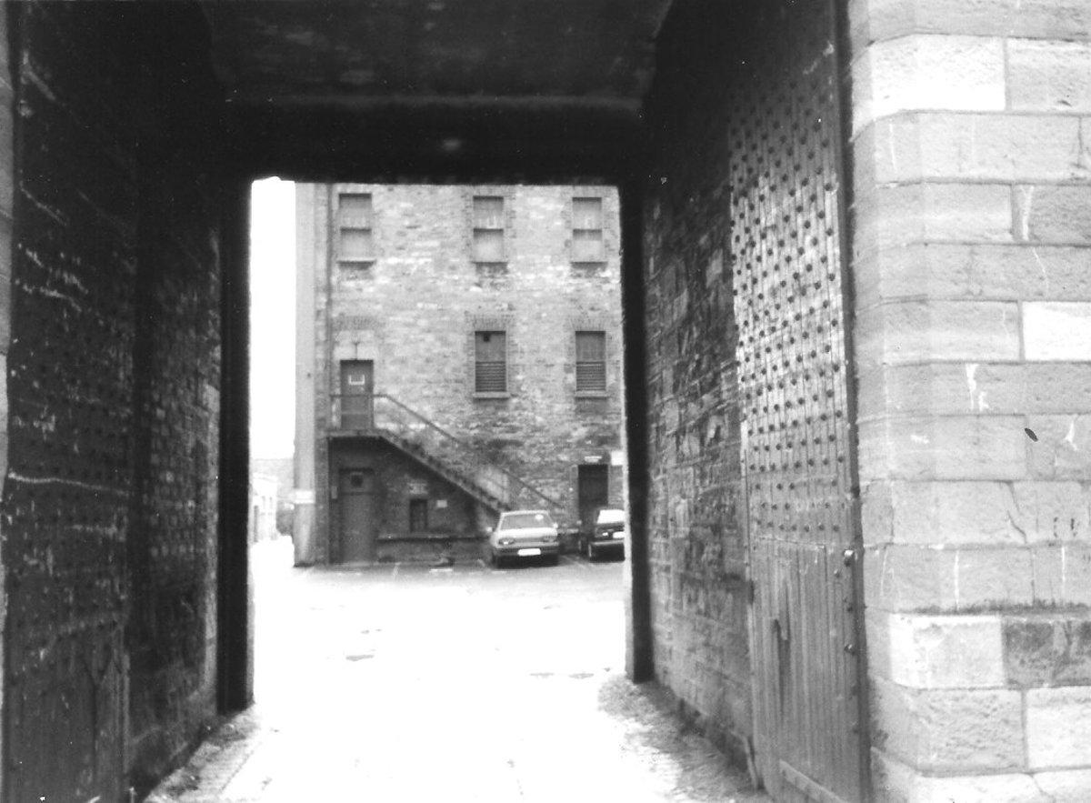 Children were sent to Grangegorman Prison in Dublin Ireland