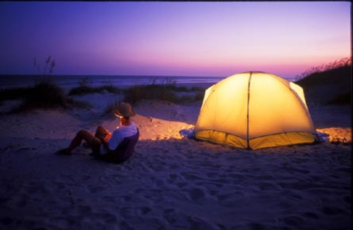 Spend a Night on the Beach