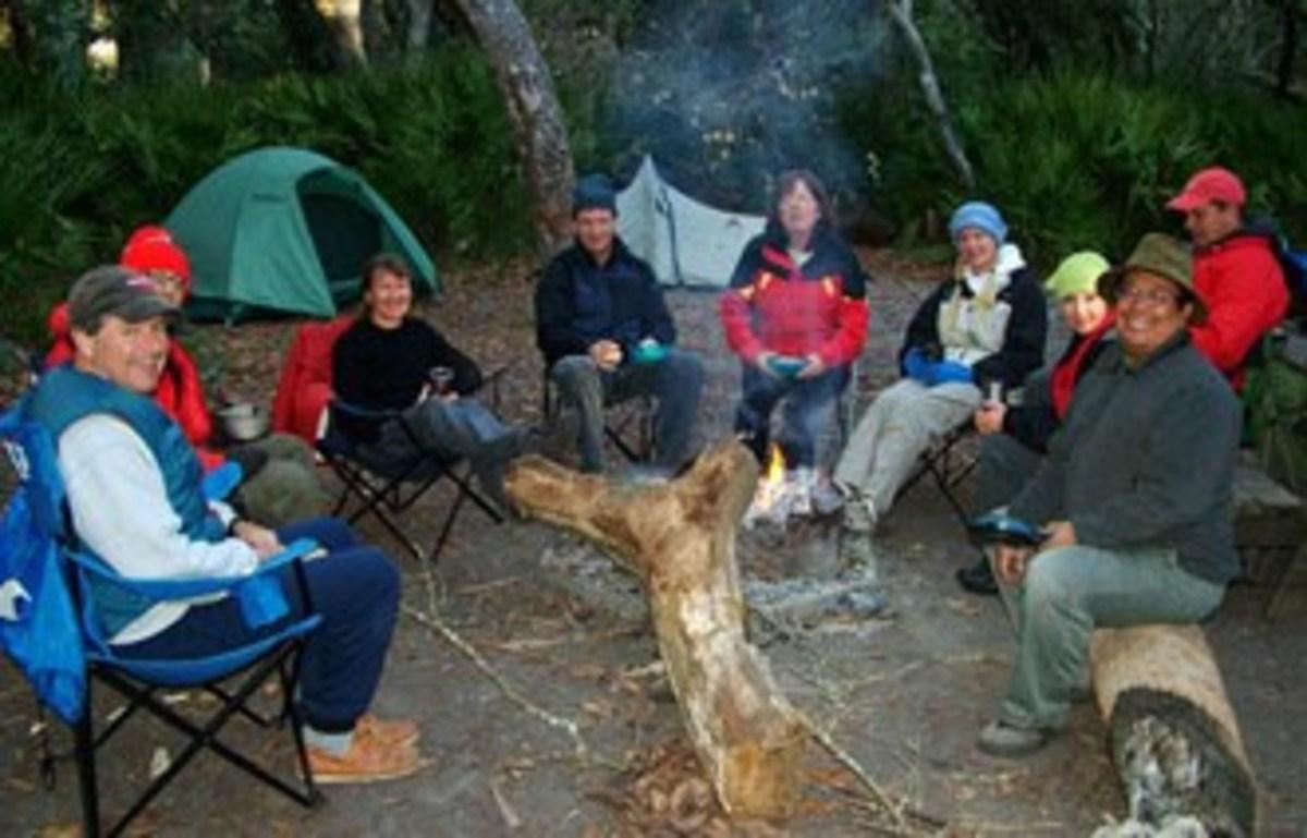Camping Kayakers