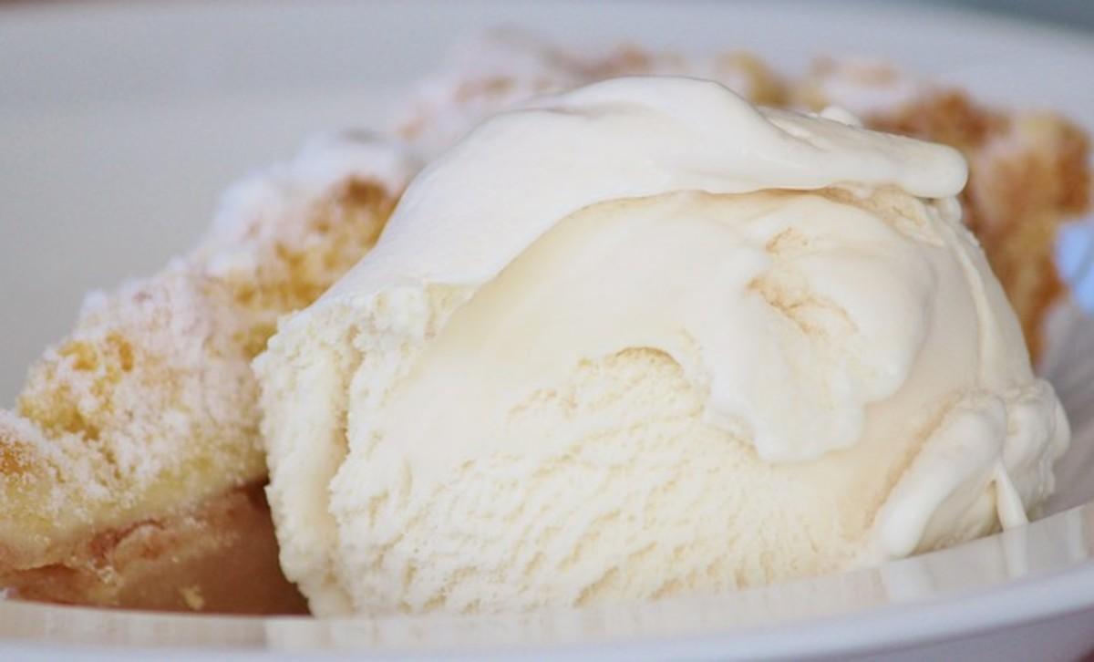 perishable food - surprise - ice cream