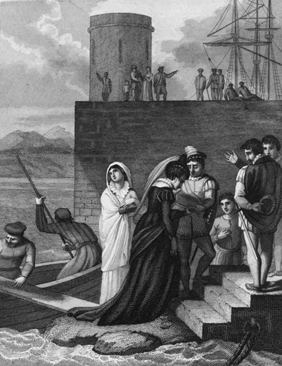 Landing of Mary, Queen of Scots. Photo courtesy of wikimedia.org.