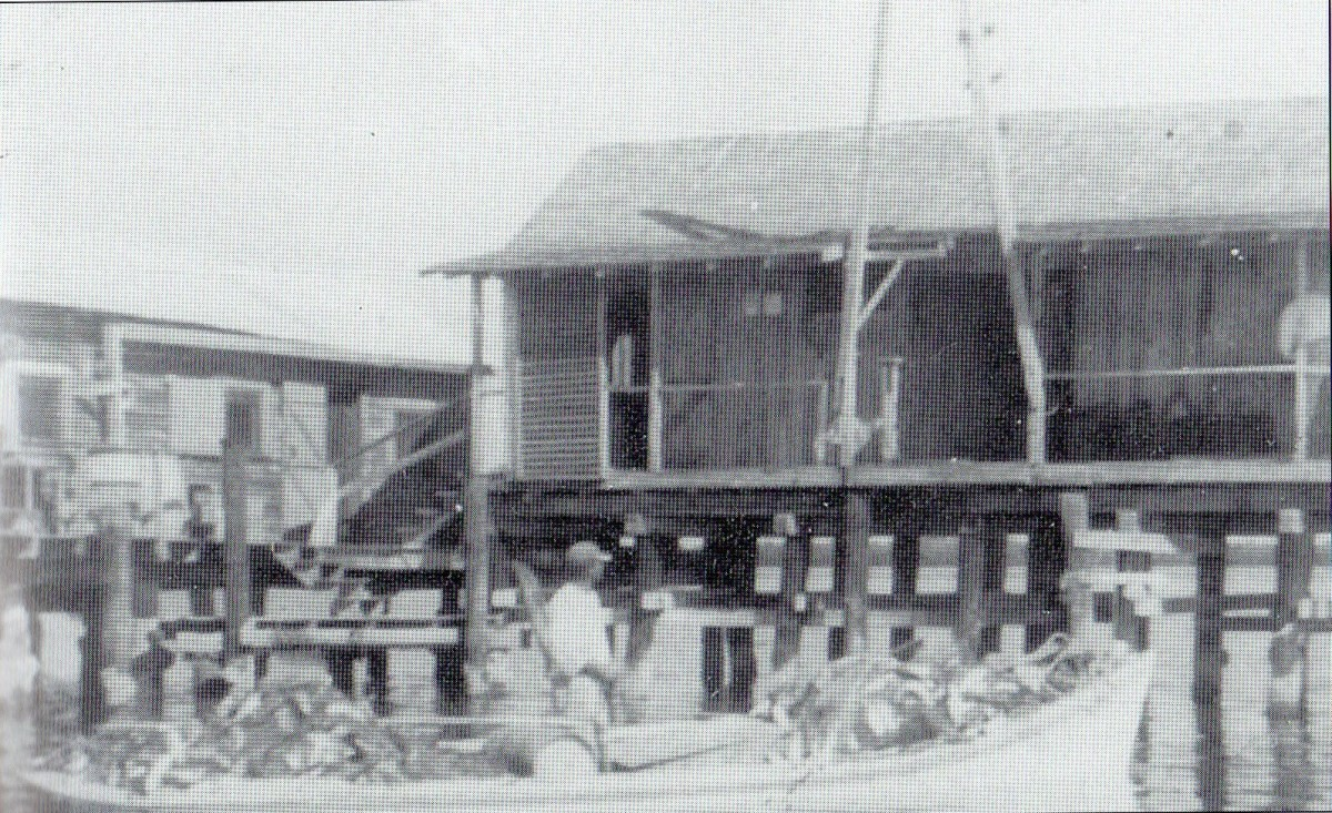 The ice station of Boca Grande, circa 1929