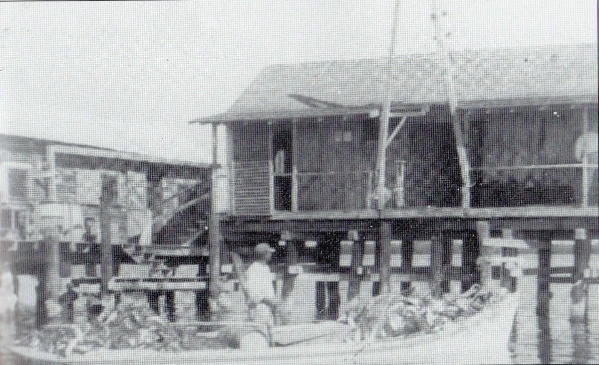 The ice station of Boca Grande, circa 1929