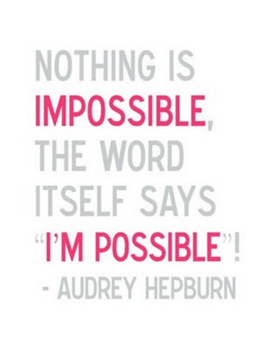 Audrey Hepburn Hope Quotes