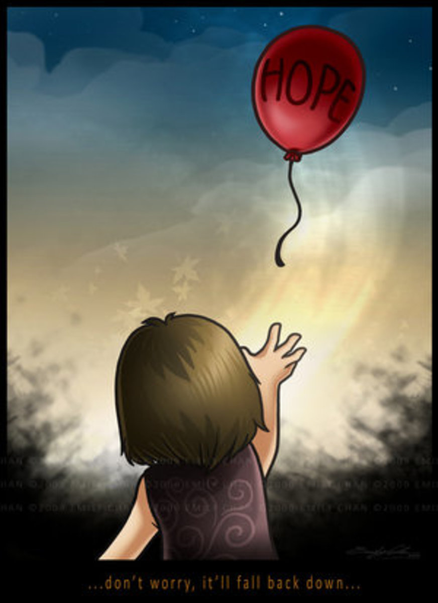 """""""For those who let hope fly too high."""""""