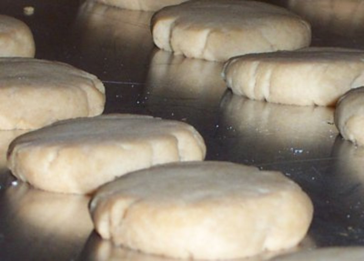 You can make shortbread as individual cookies as well - and they'll cook faster.