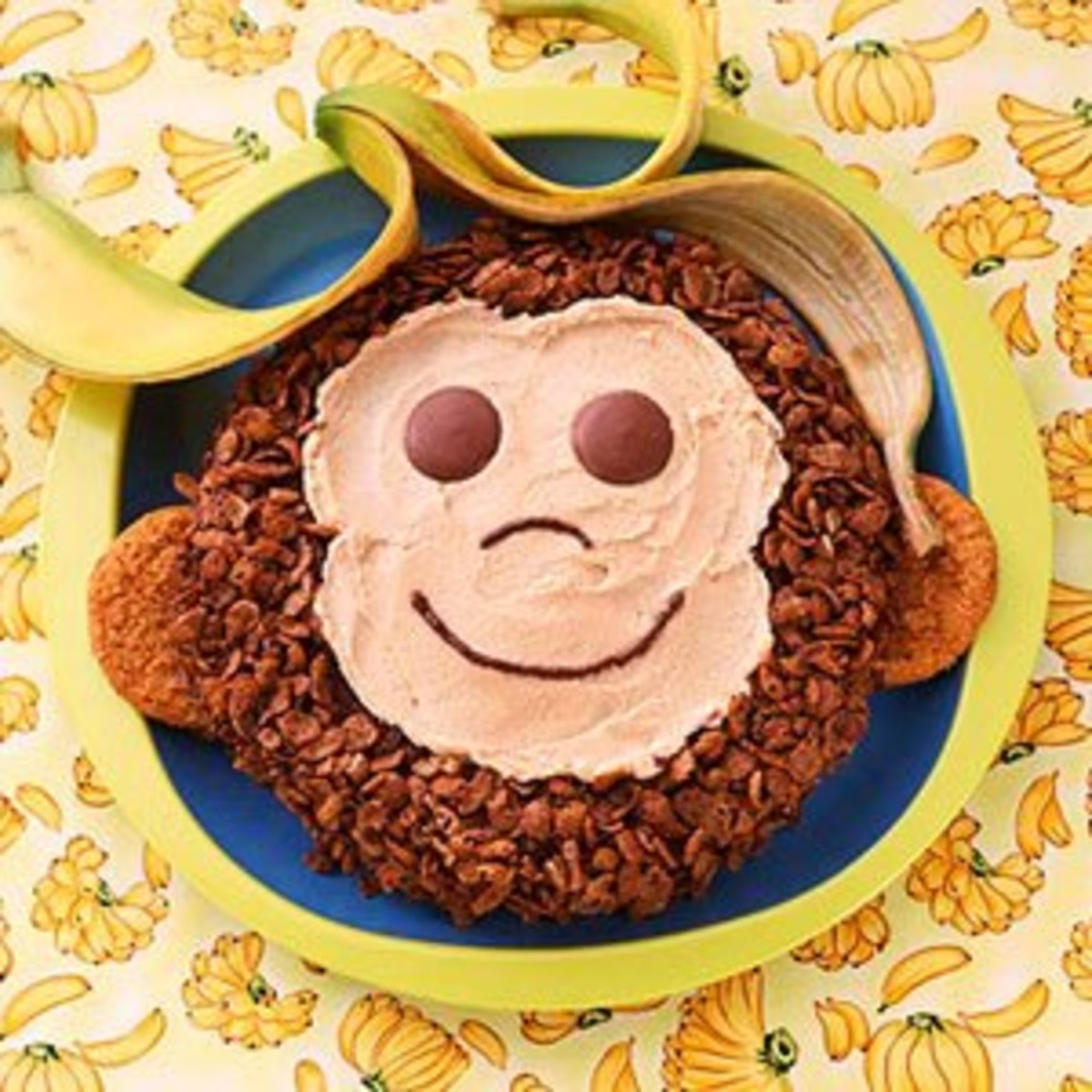 Monkey Birthday Cakes, Cupcakes and Cookies