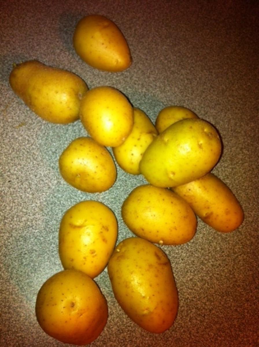 Chose thin skinned potatoes.