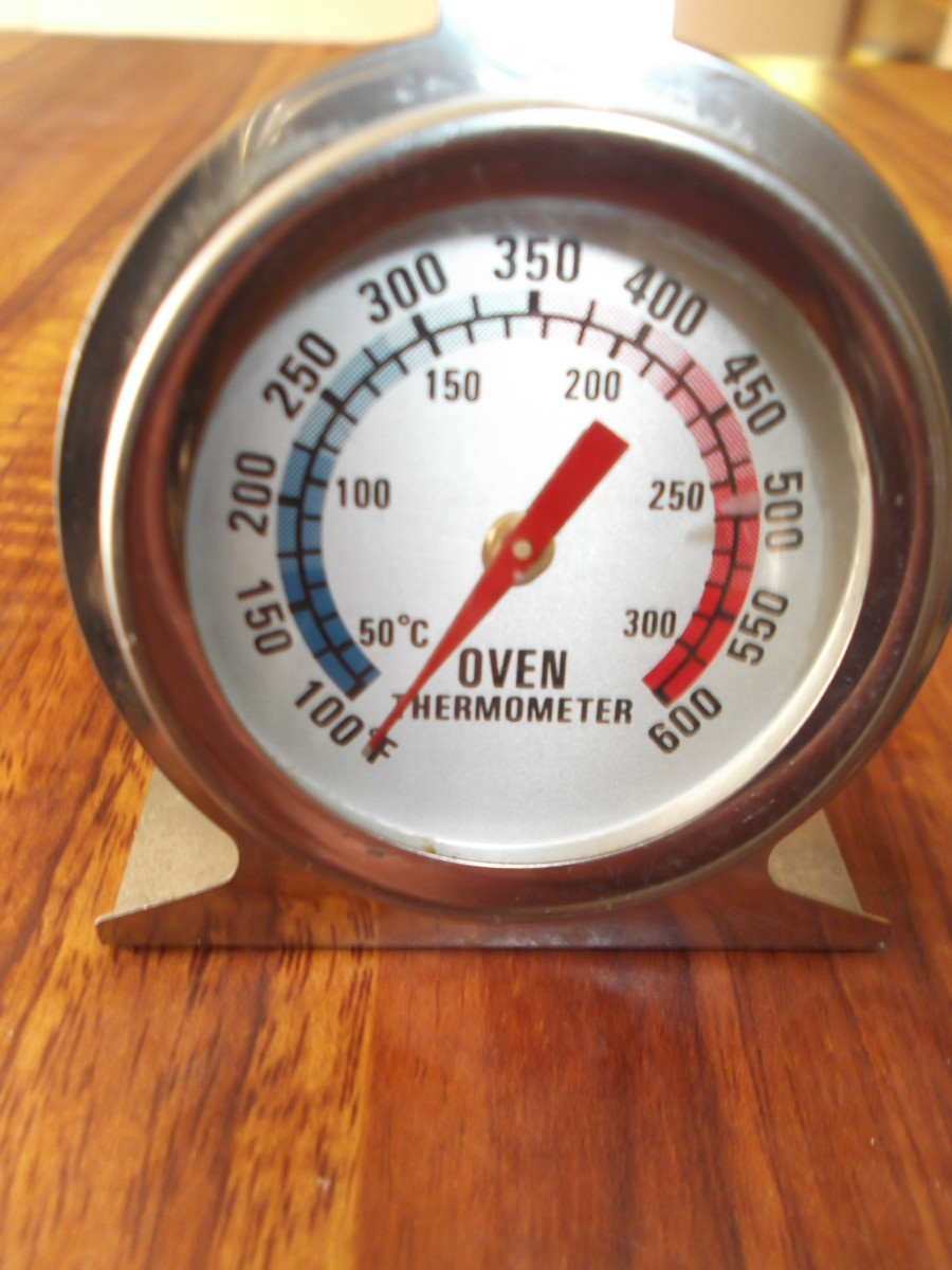 An essential item when cooking off the grid. How hot is it in your solar oven? How hot is it in your old fashioned wood burner oven? Top shelf? Bottom shelf?