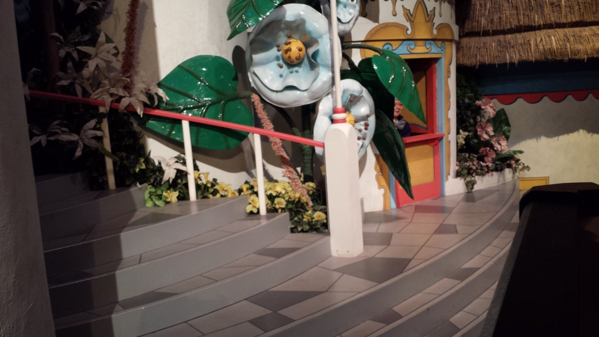 .The Wizard of Oz on the Great Movie Ride.