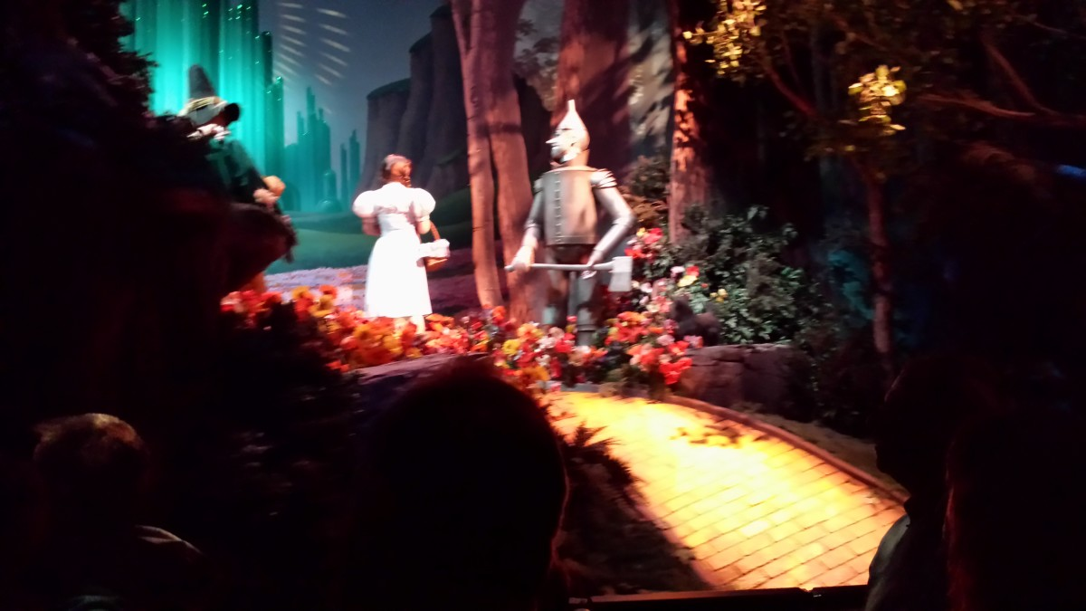 The Wizard of Oz on the Great Movie Ride.