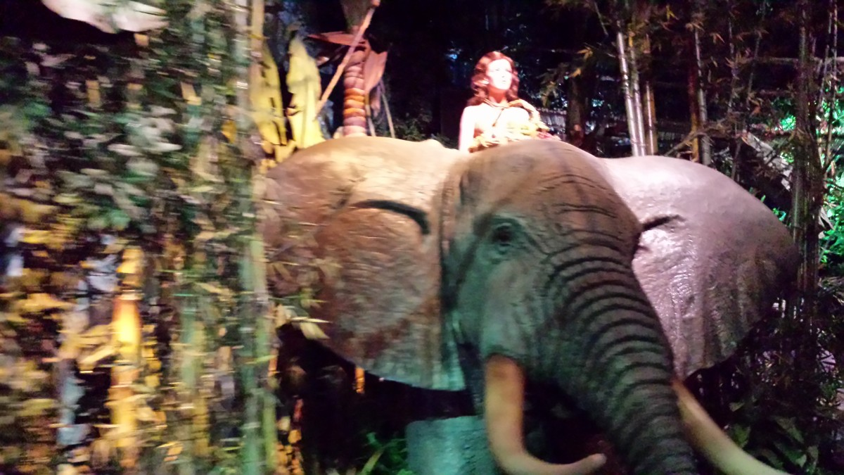 Tarzan in The Great Movie Ride