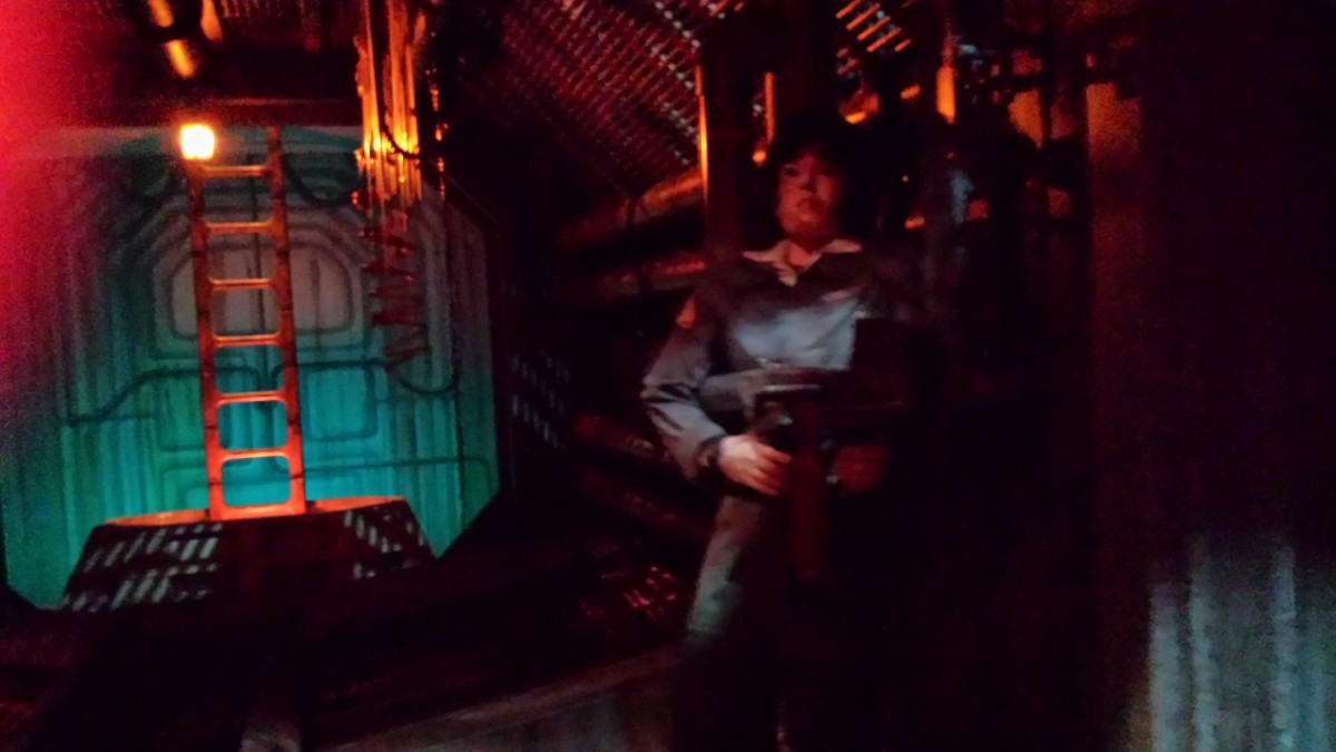The scenes from Alien are the scariest part of The Great Movie Ride.