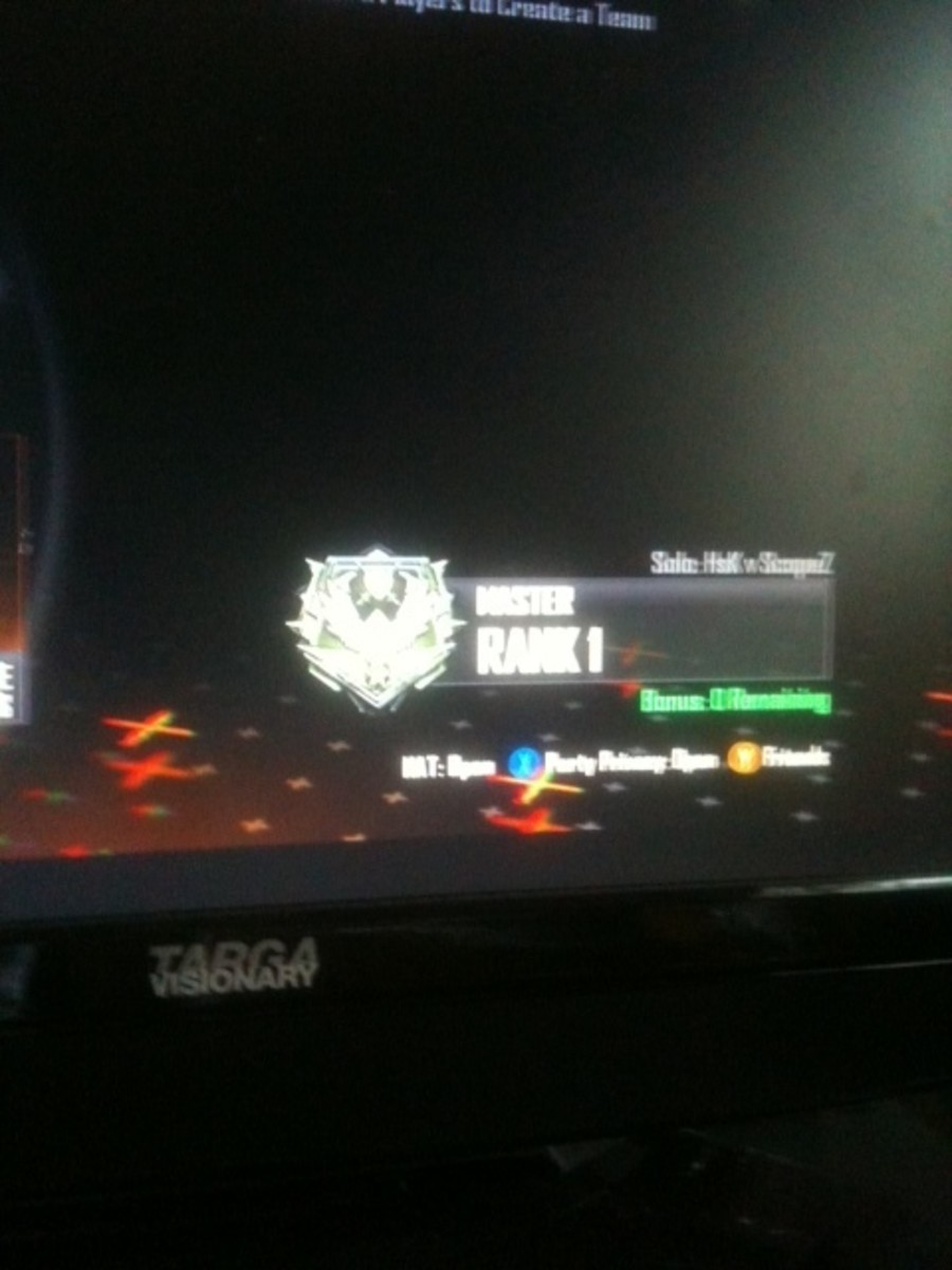 My divison rank as of May2013