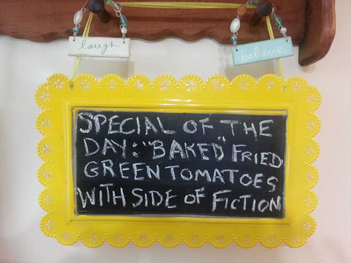 "Special of the Day: ""Baked"" Fried Green Tomatoes with a Side of Fiction"