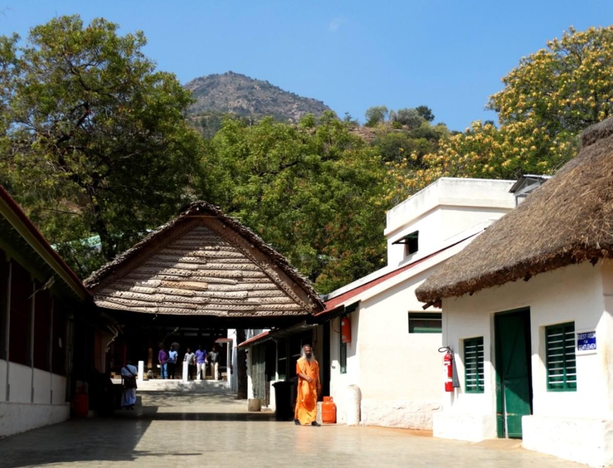 The Ramana Ashram 1
