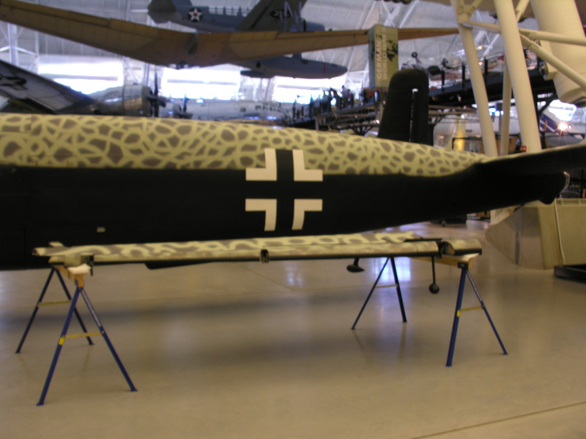 The He-219 on display at the Udvar-Hazy Center, Dulles, VA, 2014.