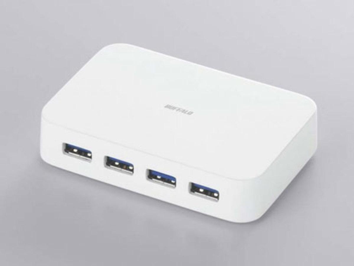 Buffalo 4 Port USB 3.0 Hub. Coming to the US soon.