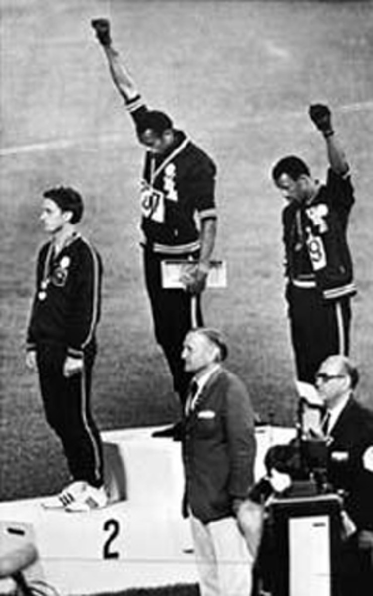 Summer Olympics Games. Mexico City, 1968  and the  Black Power Movement