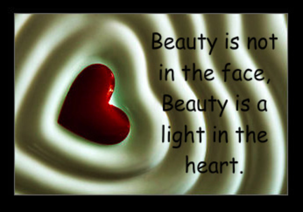Kahlil Gibran Beauty a Light in the Heart