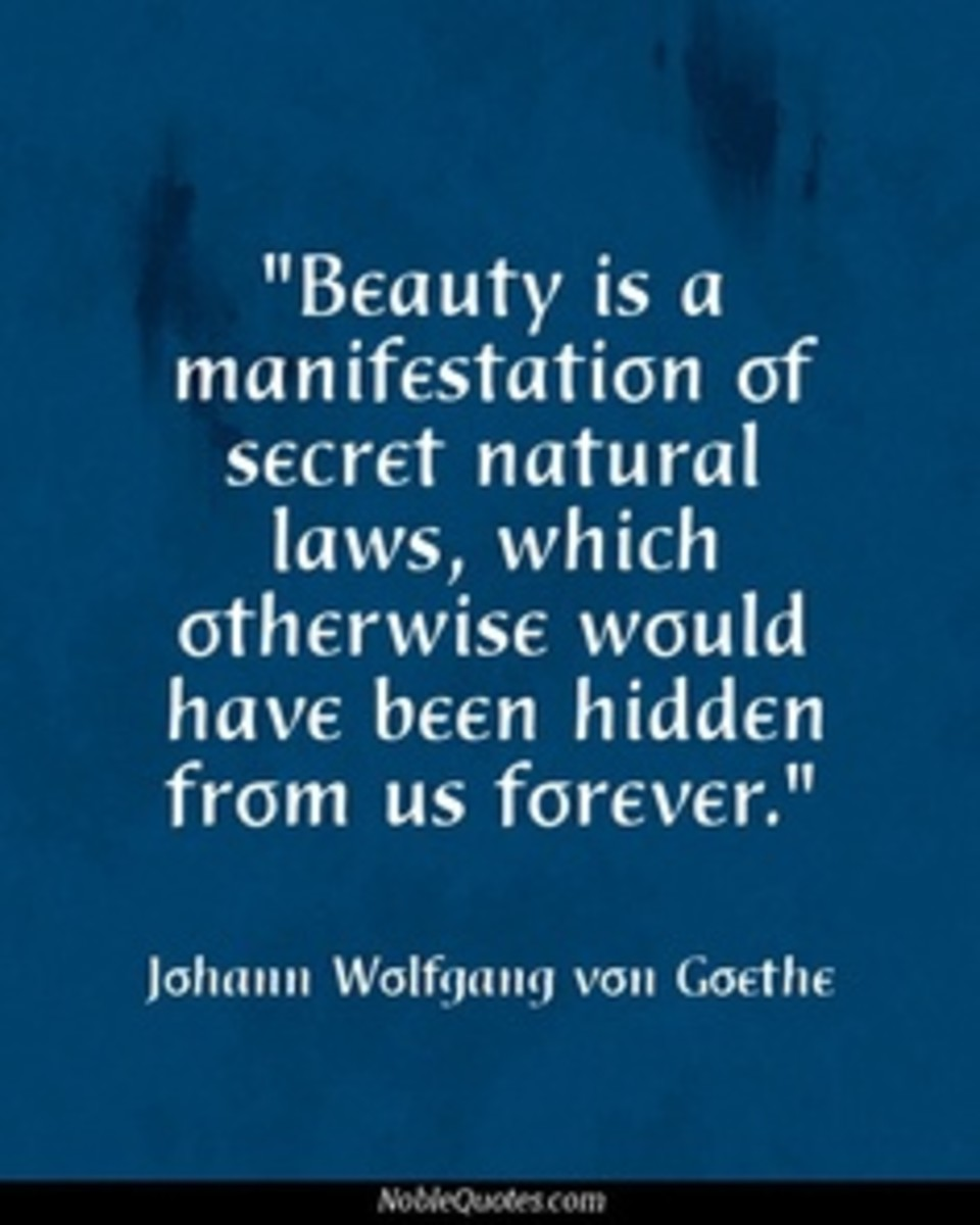 #beauty is a manifestation of secret natural laws, which otherwise would have been hidden from us forever""